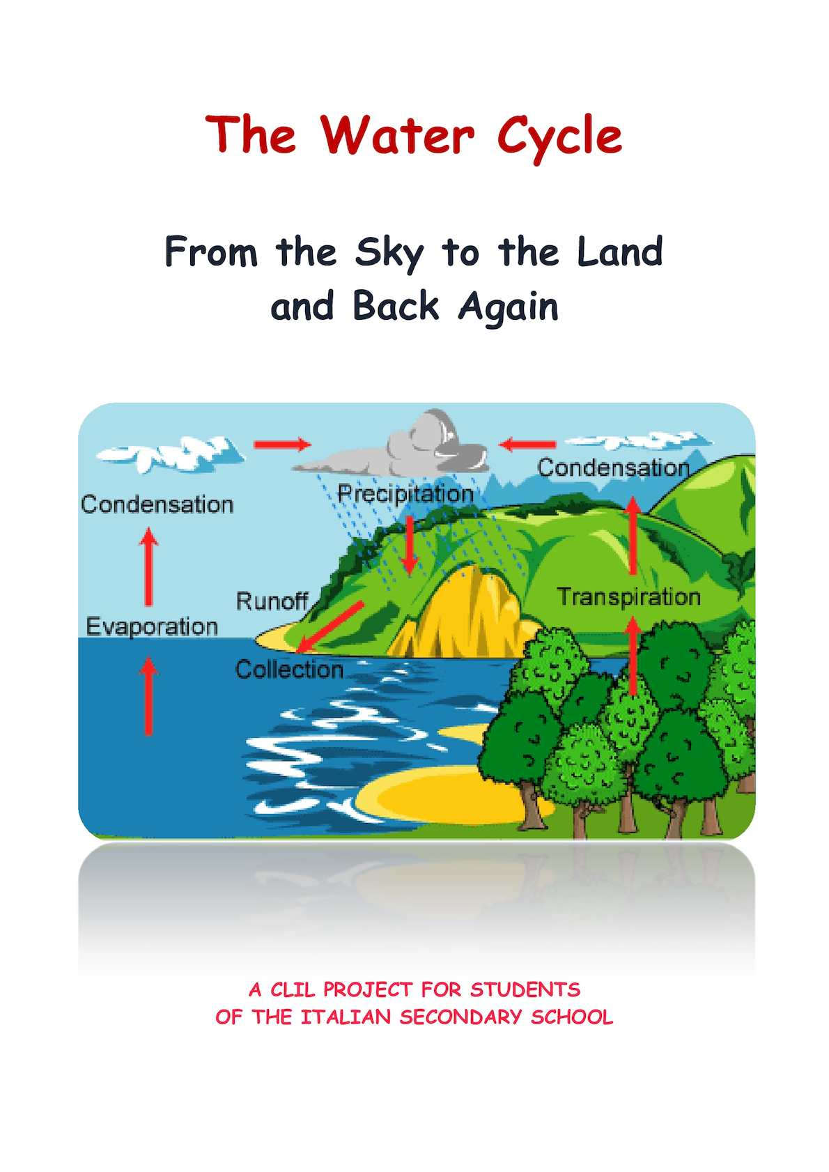 Calaméo The Water Cycle From The Sky To The Land And Back Again