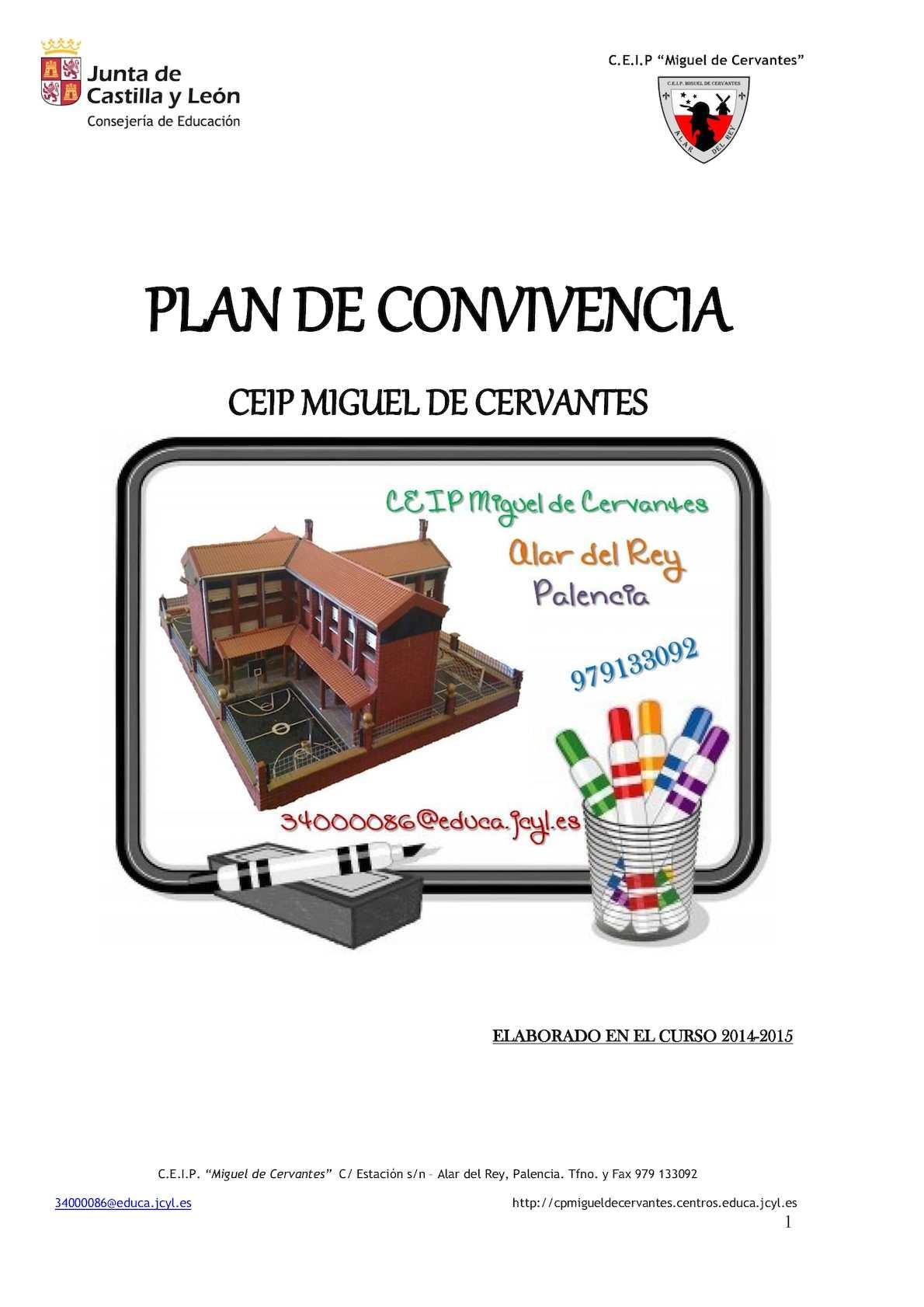 Calaméo - Plan De Convivencia 15 16 Y Anexos