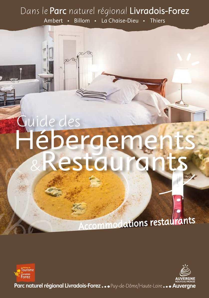 Guide Hébergements Forez Restaurants Calaméo Livradois 2016 Du UpGSMLVqz