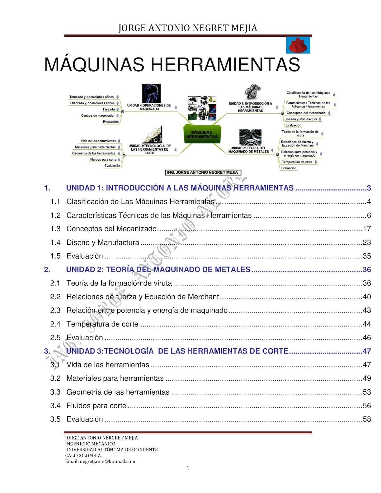 Calaméo - Máquinas Herramientas  Jorge Antonio Negret Mejía 303933646027