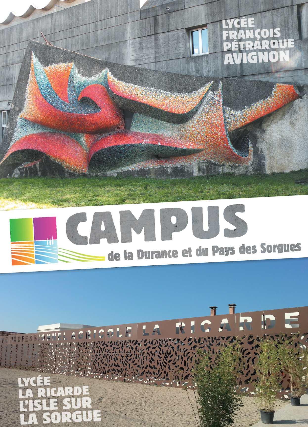 Calam o plaquette campus p trarque la ricarde 2016 - Chambre agriculture avignon ...