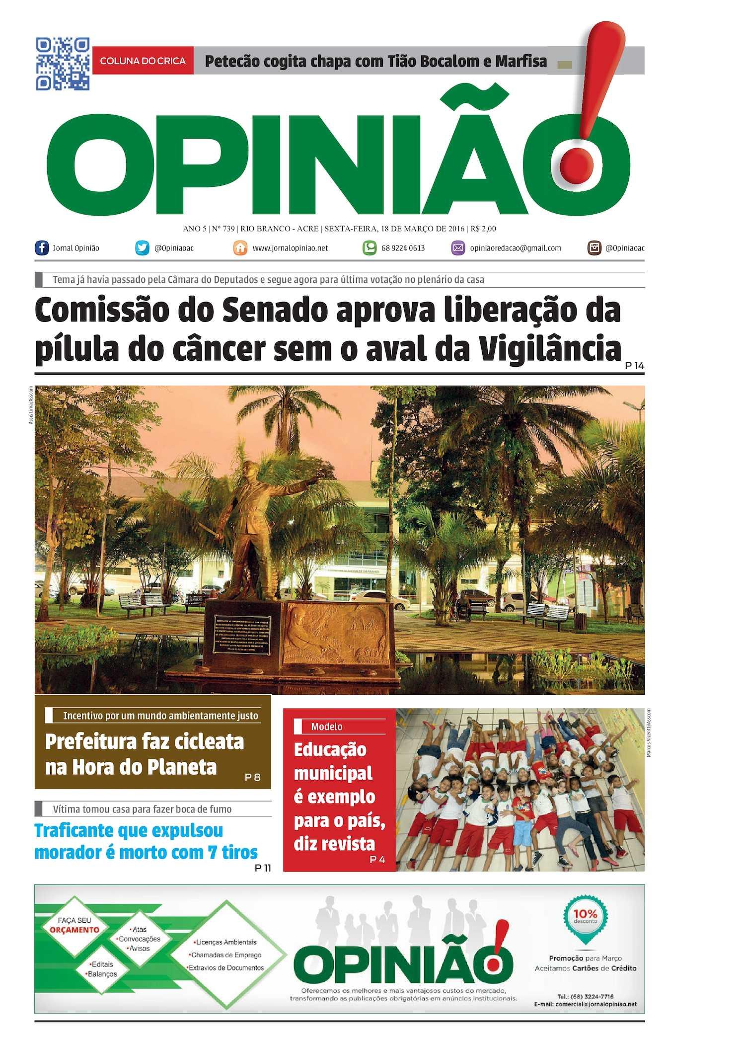 9f369c887019d Calaméo - Jornal Opinião - Edição 739