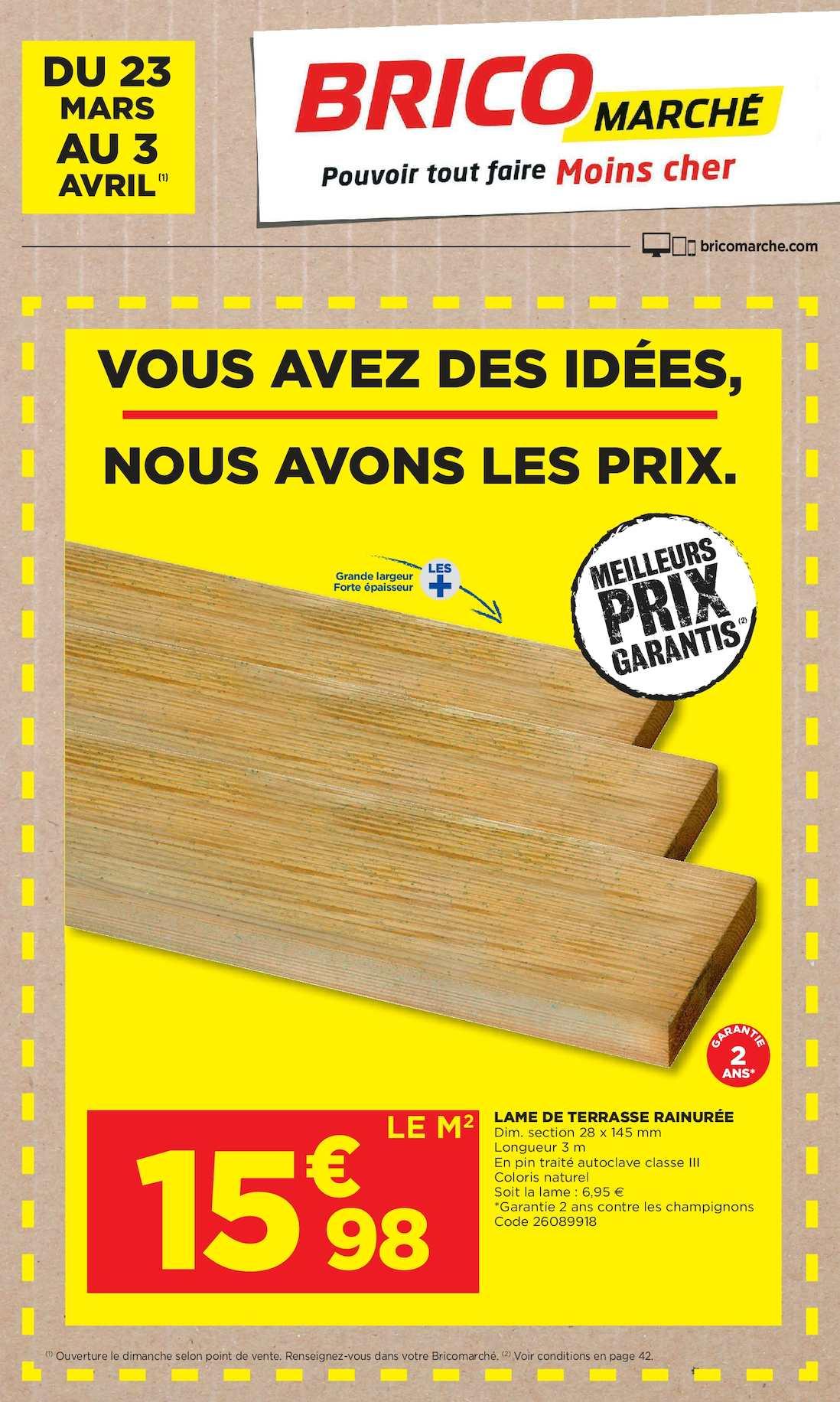 Calaméo Bricolage De Printemps Pensez Bricomarché Pont