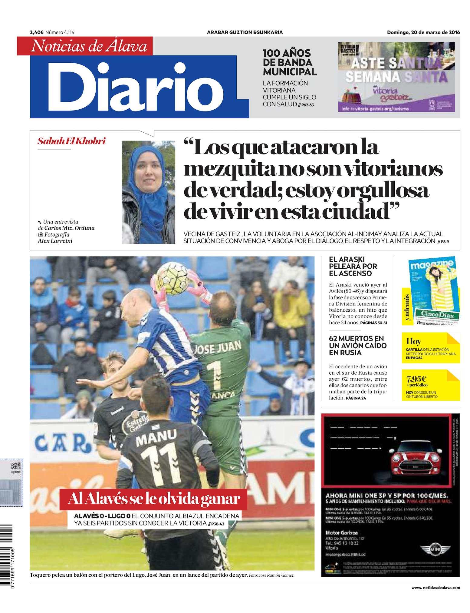 Calaméo - Diario de Noticias de Álava 20160320 1e5b4e9bcac9