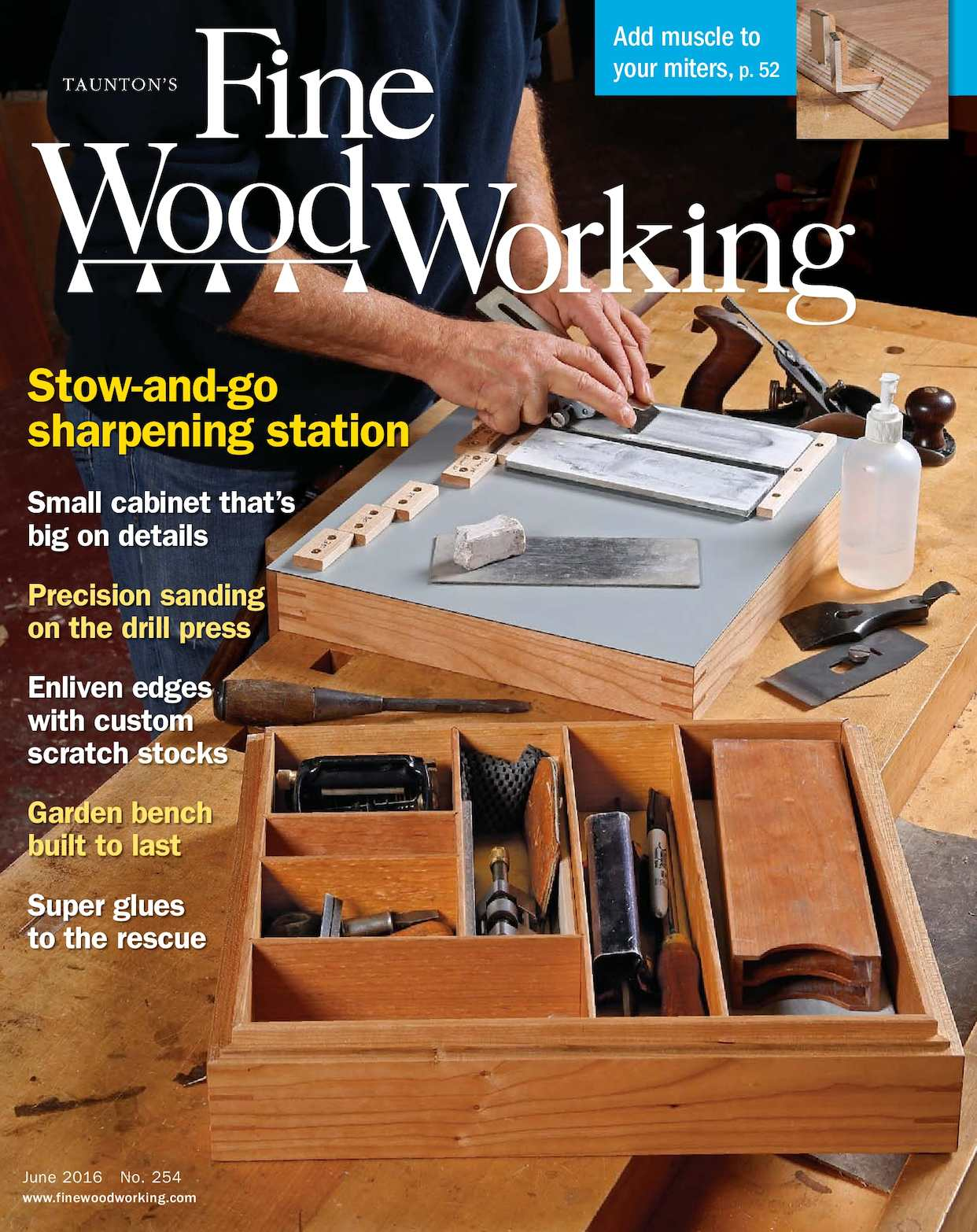 Calam 233 O Fine Woodworking 254 May June 2016 Preview