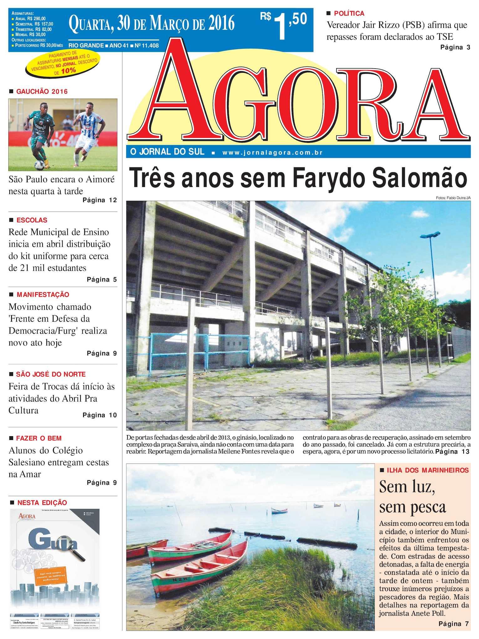 Calaméo - Jornal Agora - Edição 11408 - 30 de Março de 2016 ccecdc28df55a