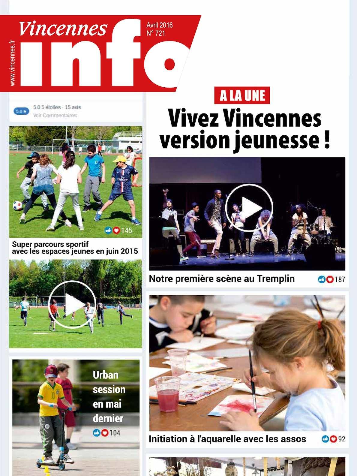 Calaméo - VINCENNES INFO N° 721 (AVRIL 2016) 64e7b9ad7880