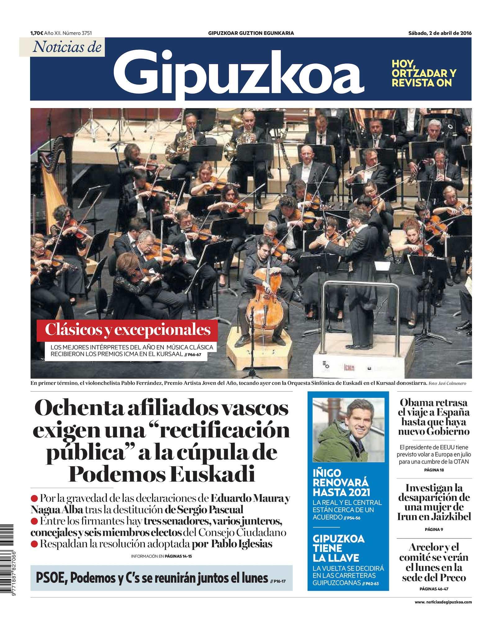 3cf57a722 Calaméo - Noticias de Gipuzkoa 20160402