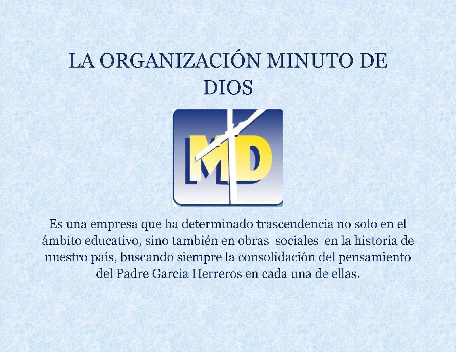 Calaméo - La Organización Minuto De Dios