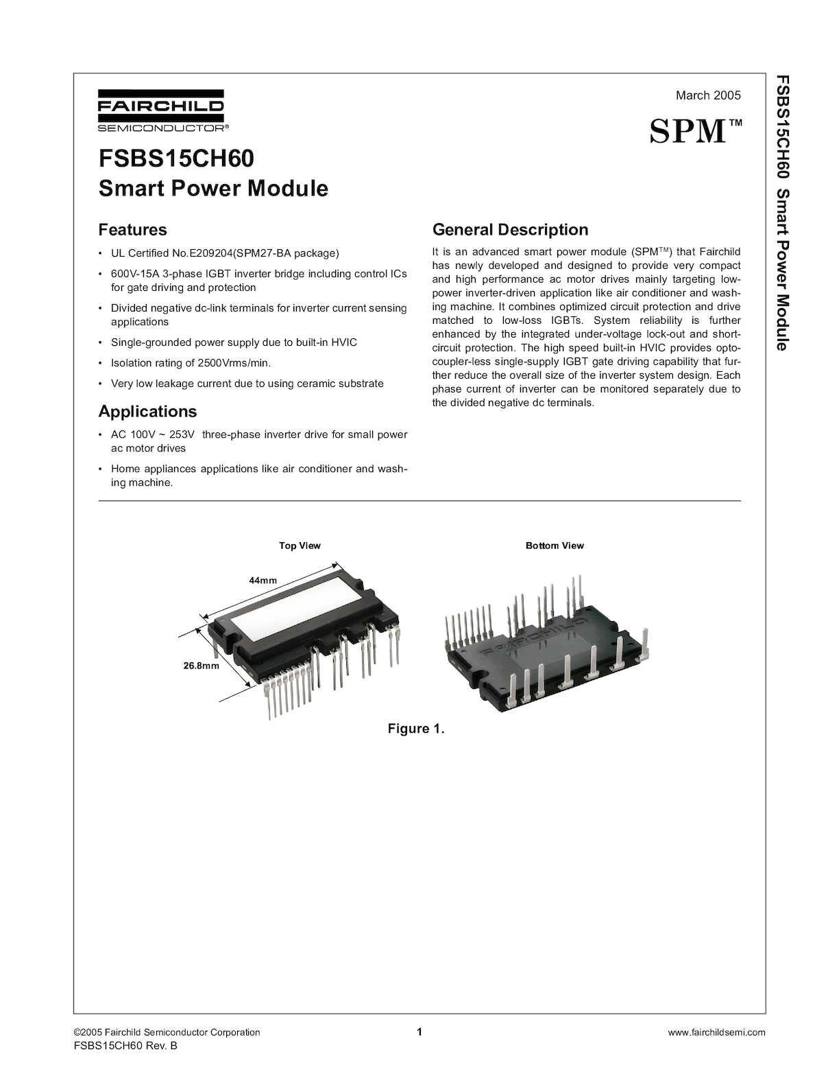 Calaméo - Fsbs15ch60 Ipm Inverter Samsung