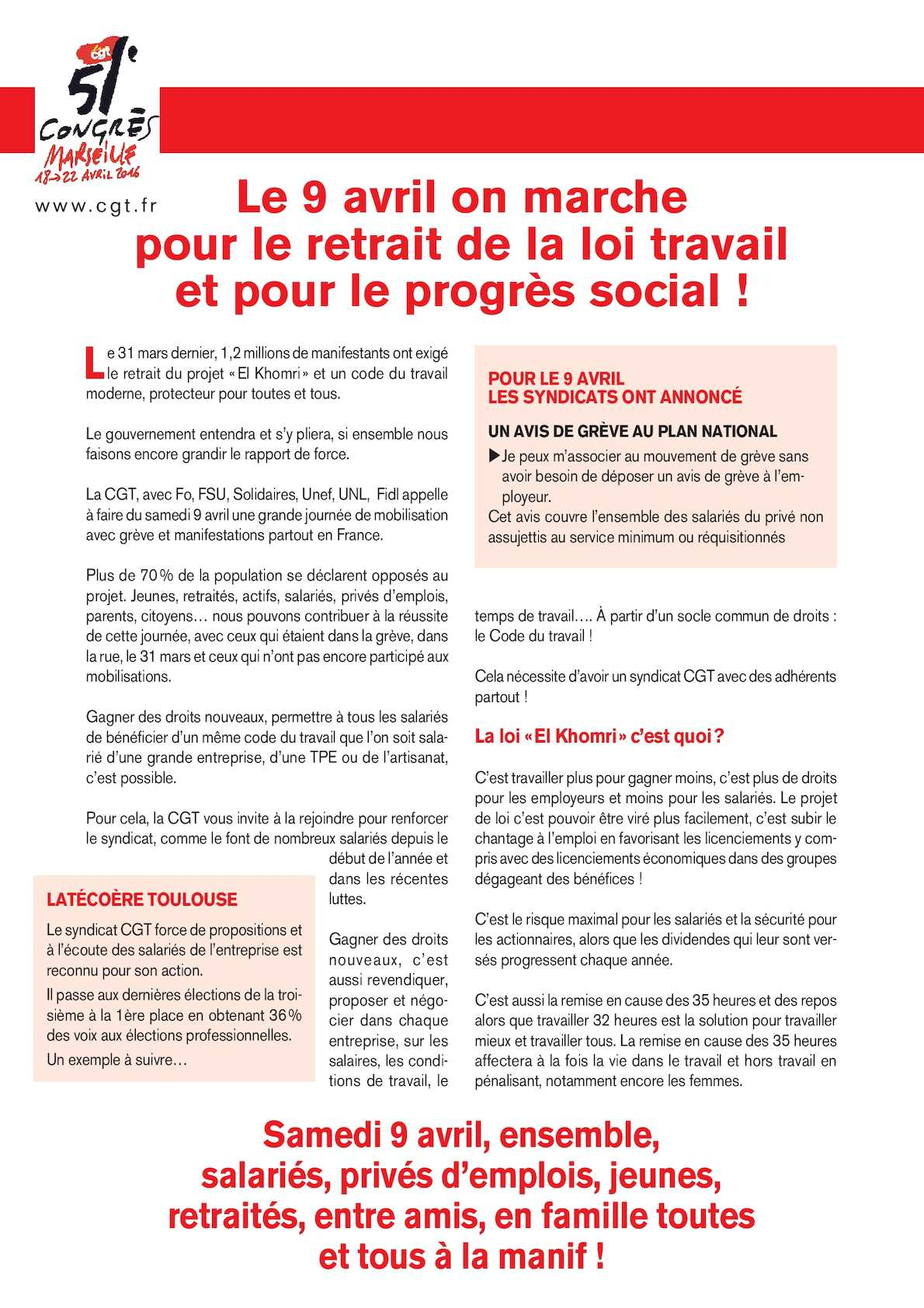 Calameo 20160305 Mani Loi Travail Tract
