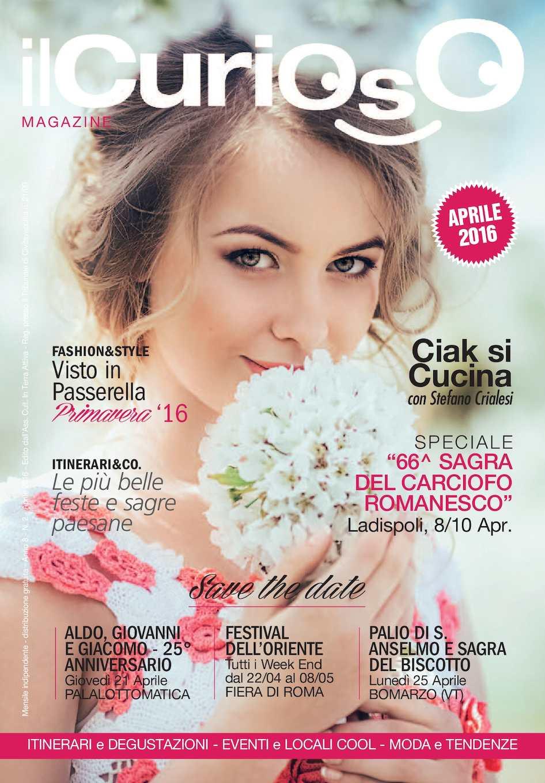 Calaméo - ilCurioso Magazine - Aprile 2016 c89bc4e68c8