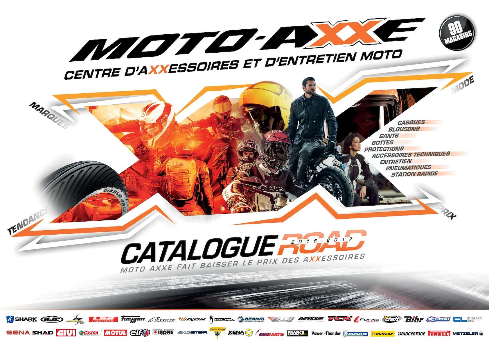 bf8baf24c303e4 Calaméo - CATALOGUE MOTO-AXXE ROAD 2016-2017