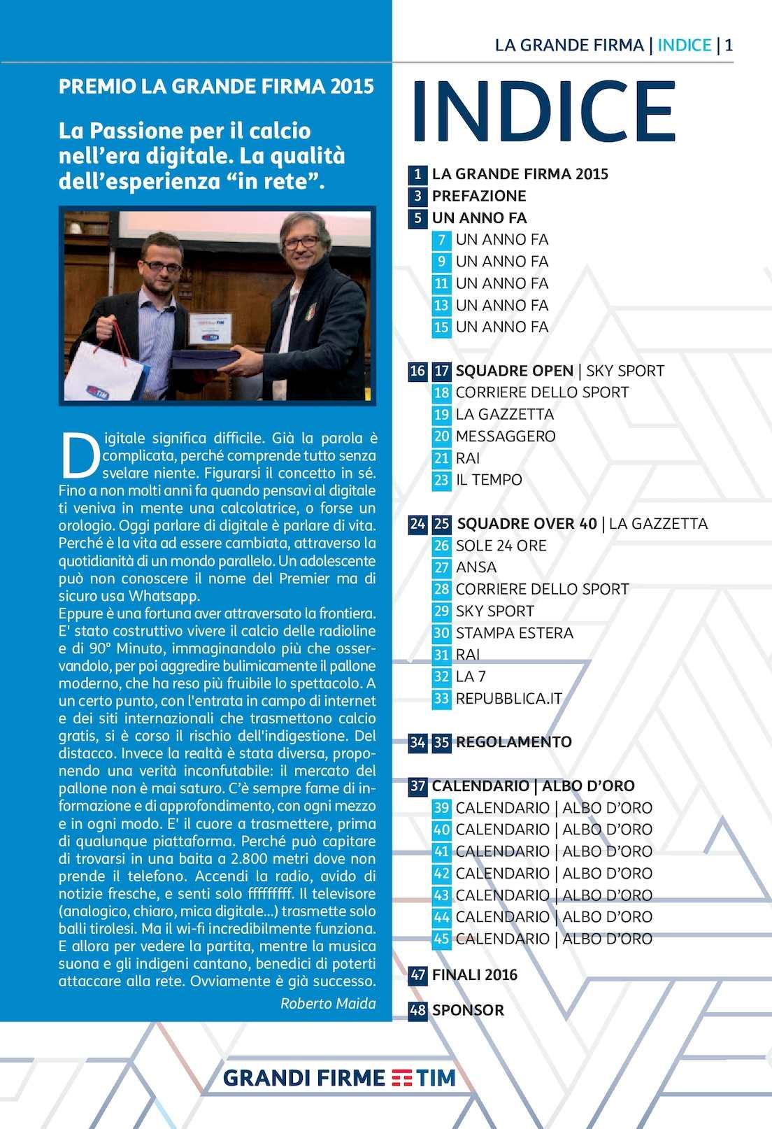 Corriere Dello Sport Calendario.Calameo Interno Grandi Firme 2016 Ok Layout 1