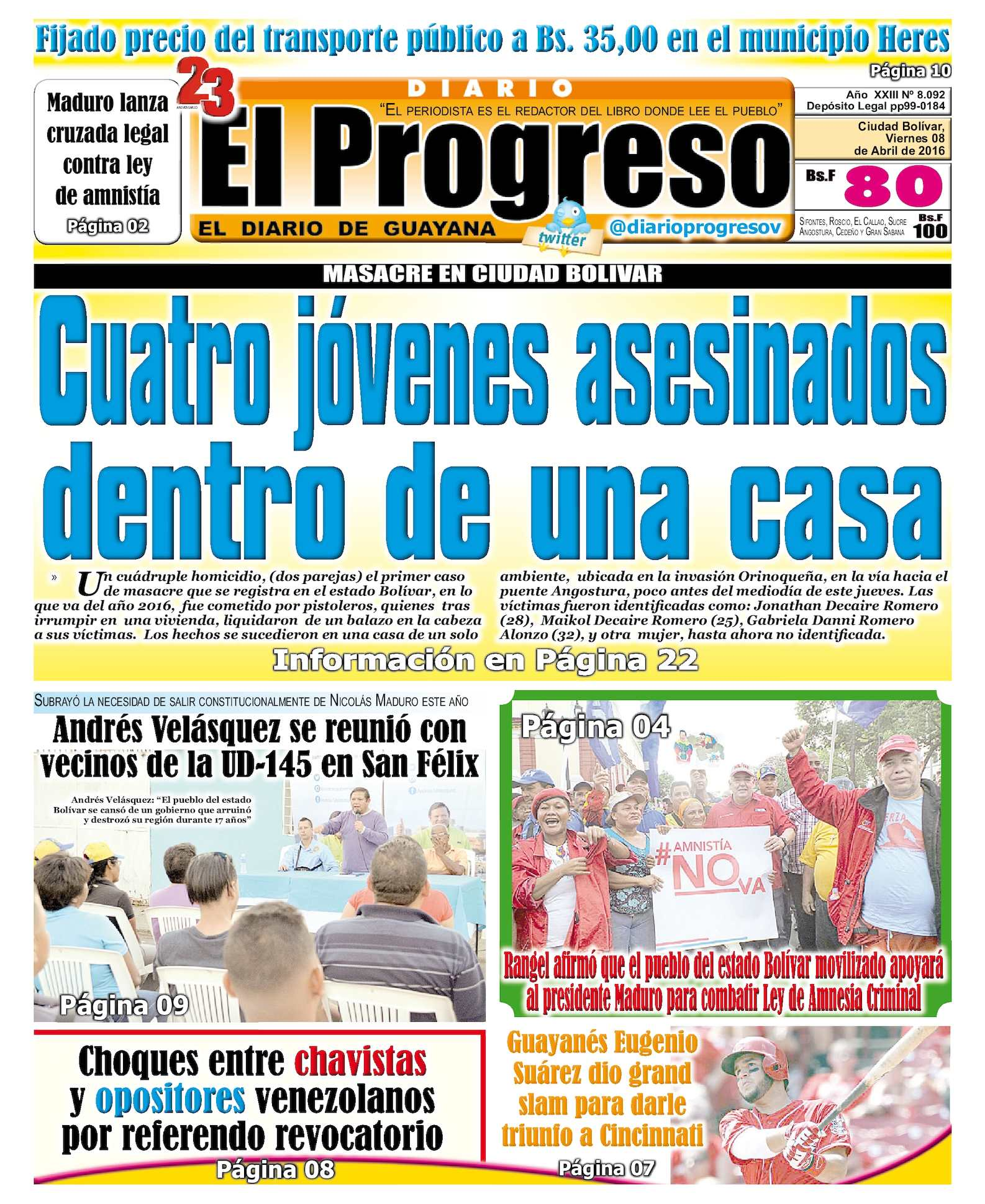 94aaa307a Calaméo - DiarioelprogresoEDICIÓNDIGITAL 08-04-2016