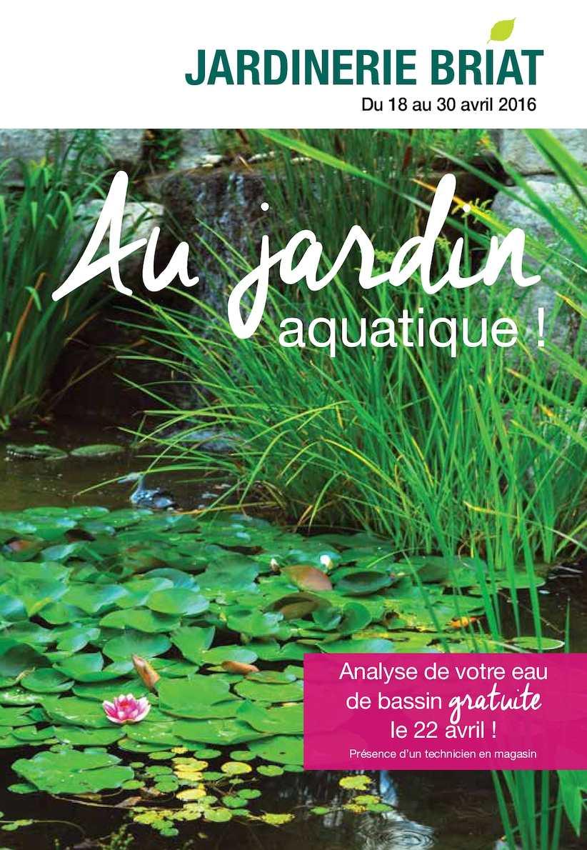 Bassin Préformé Hors Sol calaméo - jardinerie briat news depliant bassin