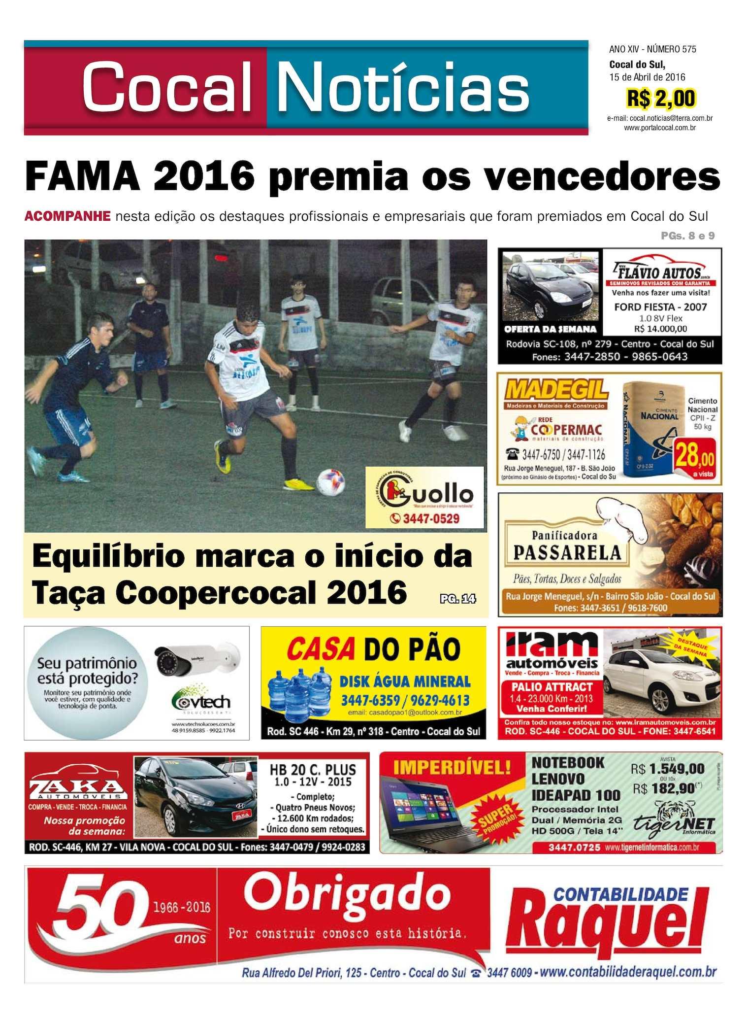 Calaméo - COCAL NOTÍCIAS 15-04-2016 www.portalcocal.com.br 57bb5a874e220
