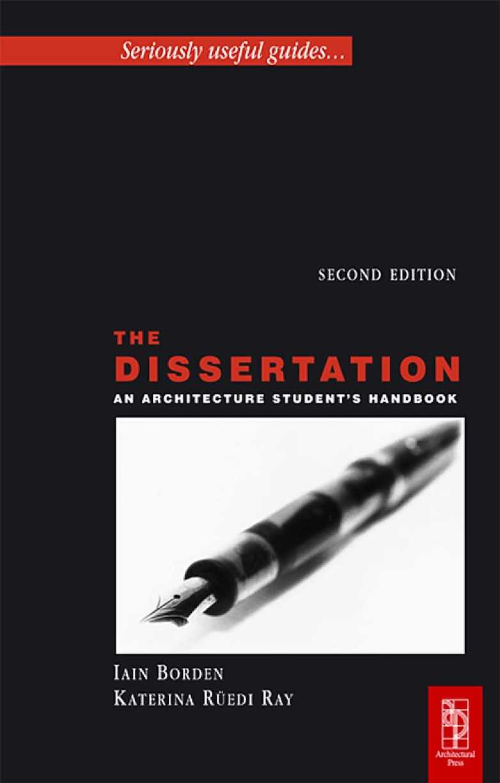 Calaméo - [Architecture Ebook] The Dissertation An