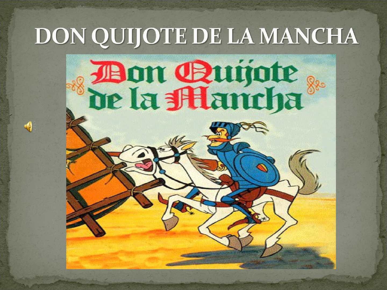 Calaméo Don Quijote De La Mancha Ppt