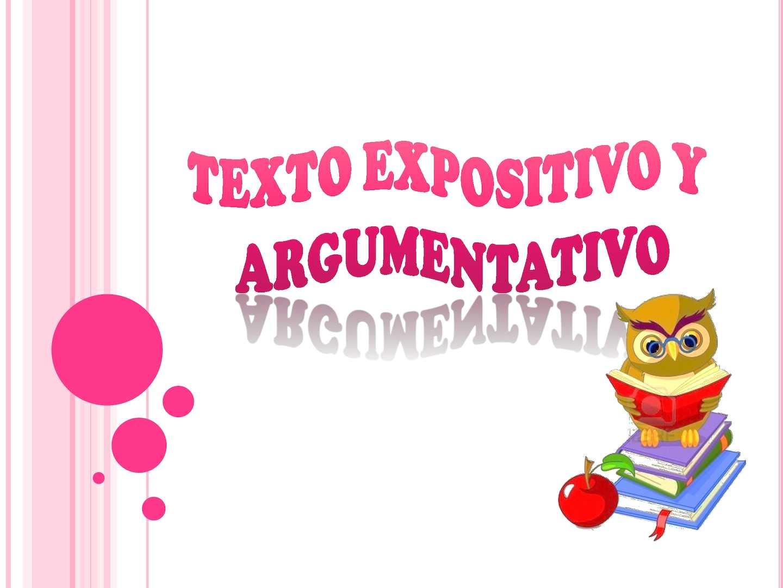 Calaméo Cuadro Comparativo Texto Argumentativo Y Expositivo
