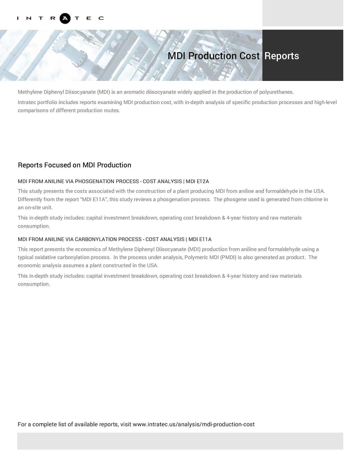 Calaméo - Techno-Economic Assessment about MDI