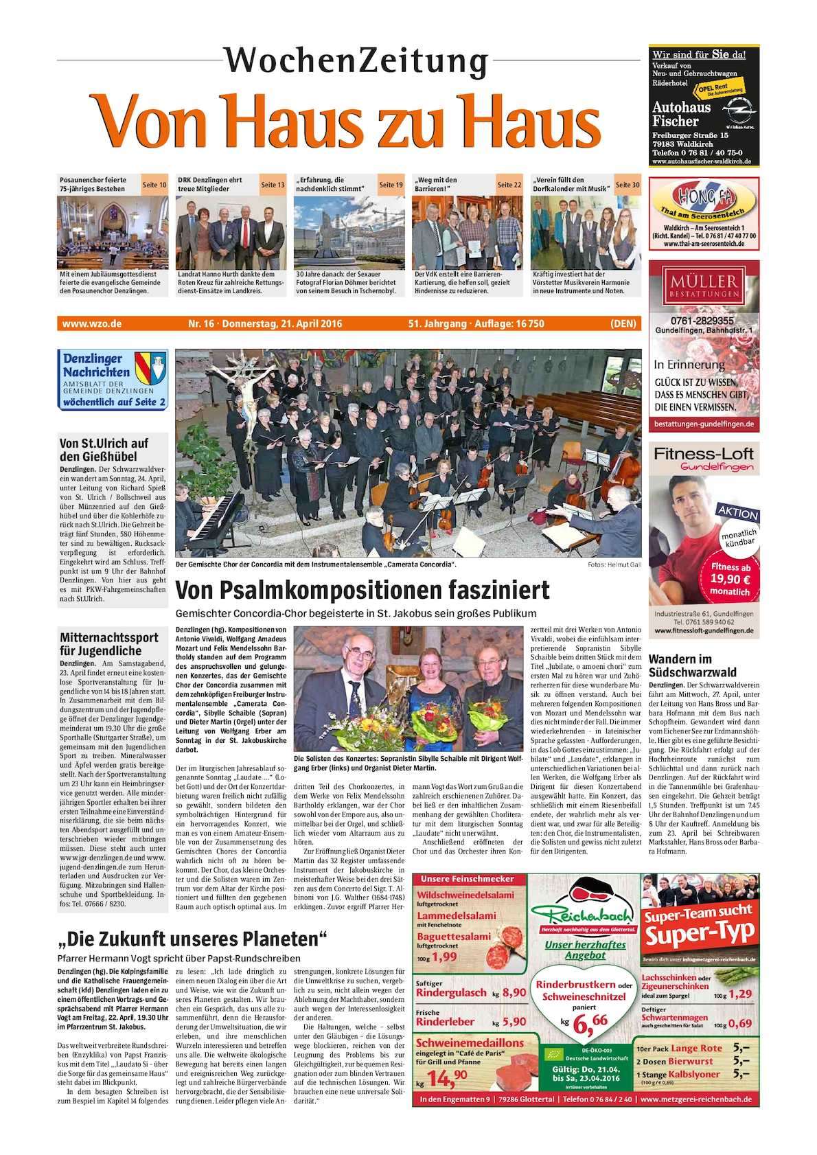 Calaméo VHZH Denzlingen Stadt