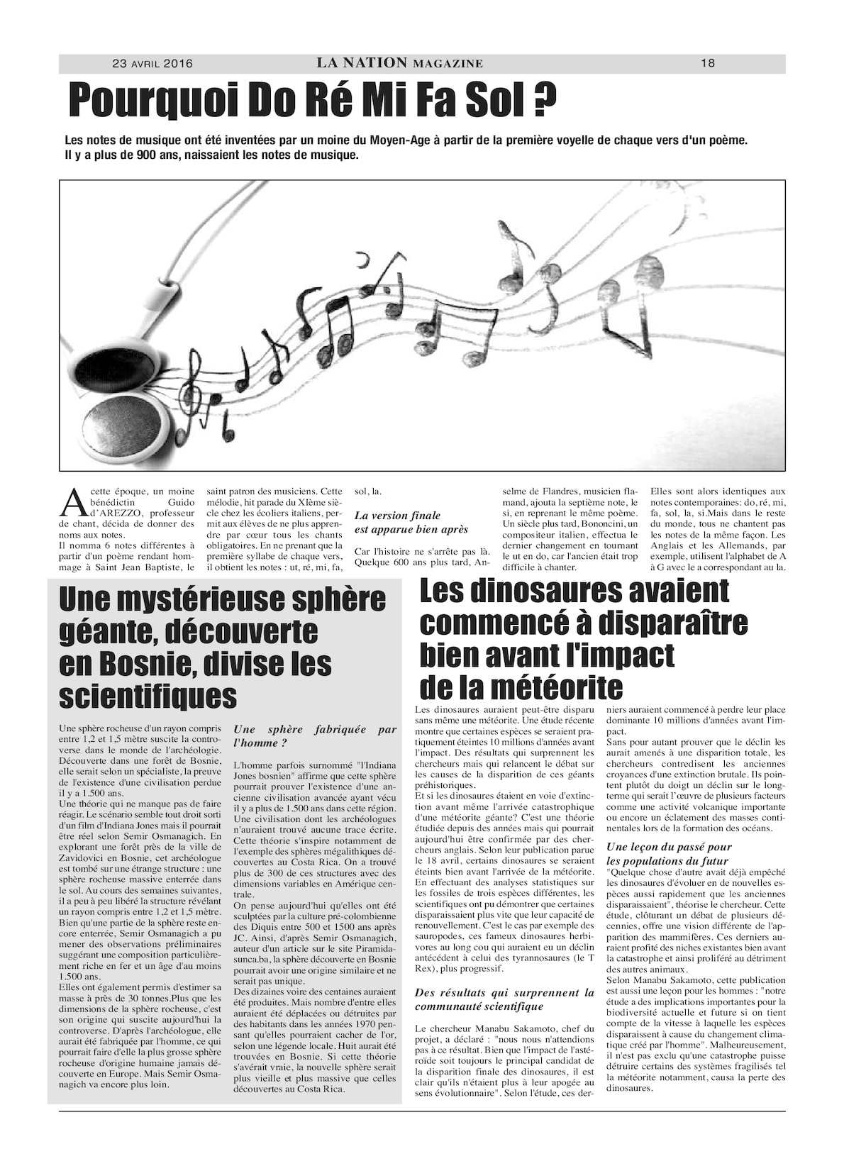 La Nation Edition N 937 Calameo Downloader