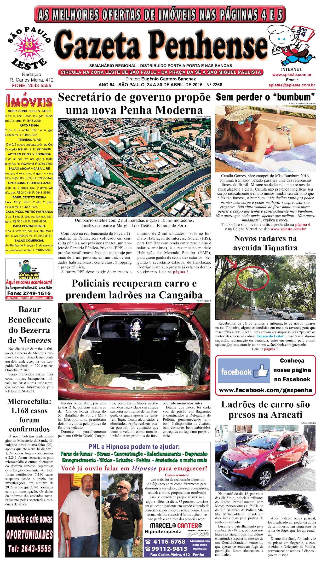63578b8b75 Calaméo - Gazeta Penhense - edição 2268 - 24 a 30.04.16