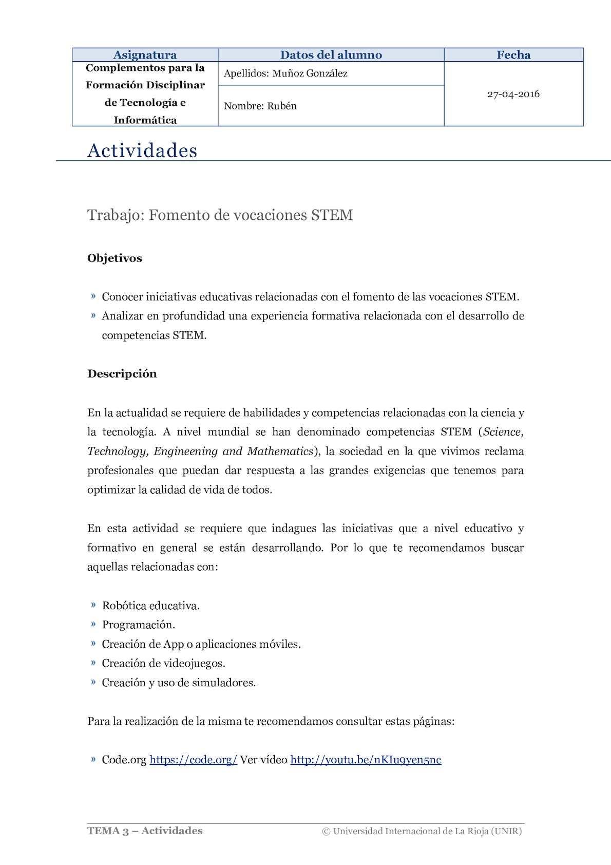 Ruben Muñoz Actividad 1 Complementos Formacion