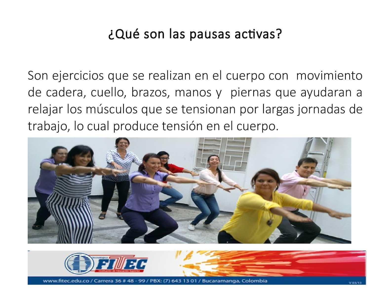Calaméo - Presentacion Pausas Activas 7b3313a7b7f0
