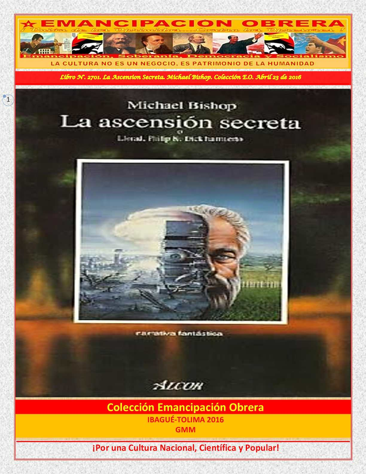 more photos fafa0 ec353 Calaméo - Libro N° 2701 La Ascension Secreta Michael Bishop Colección E O  Abril 23 De 2016