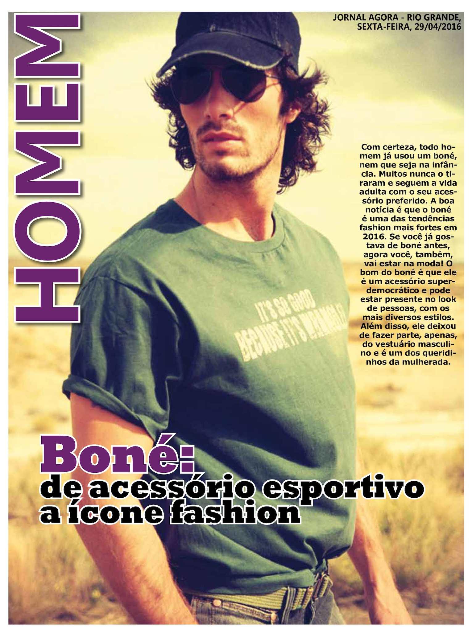 4660cb2ea372d Calaméo - Jornal Agora - Edição 11433 - Homem - 29 de Abril de 2016