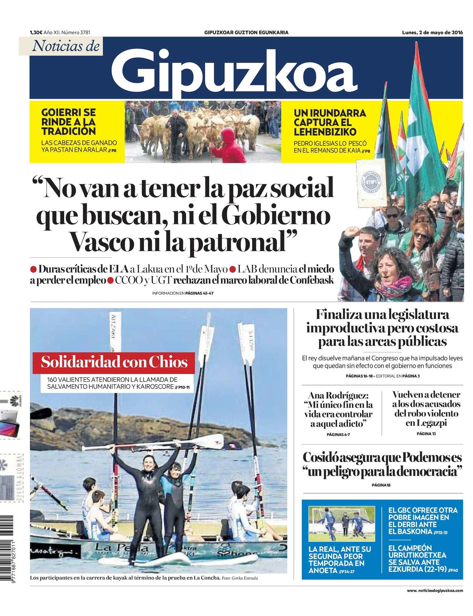 the latest 01142 fb531 Calaméo - Noticias de Gipuzkoa 20160502