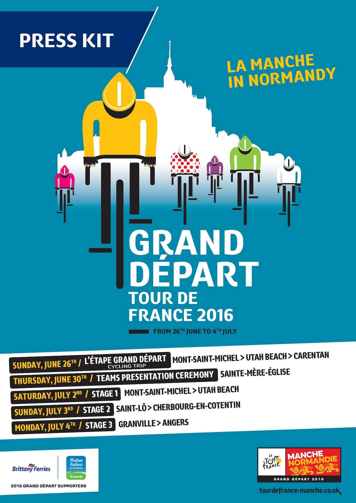 Calaméo - Press kit 2016 Tour de France Grand Départ
