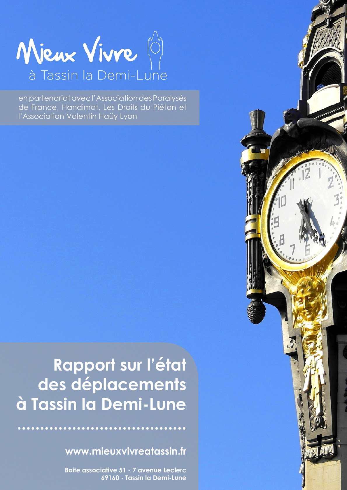 Calaméo Rapport Sur Létat Des Déplacements à Tassin La