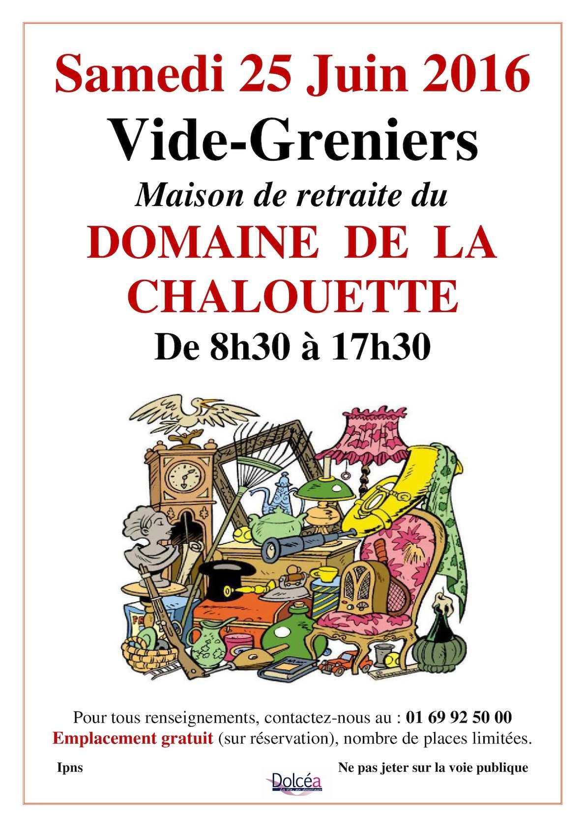 Calameo Affiche Du Vide Grenier 2016