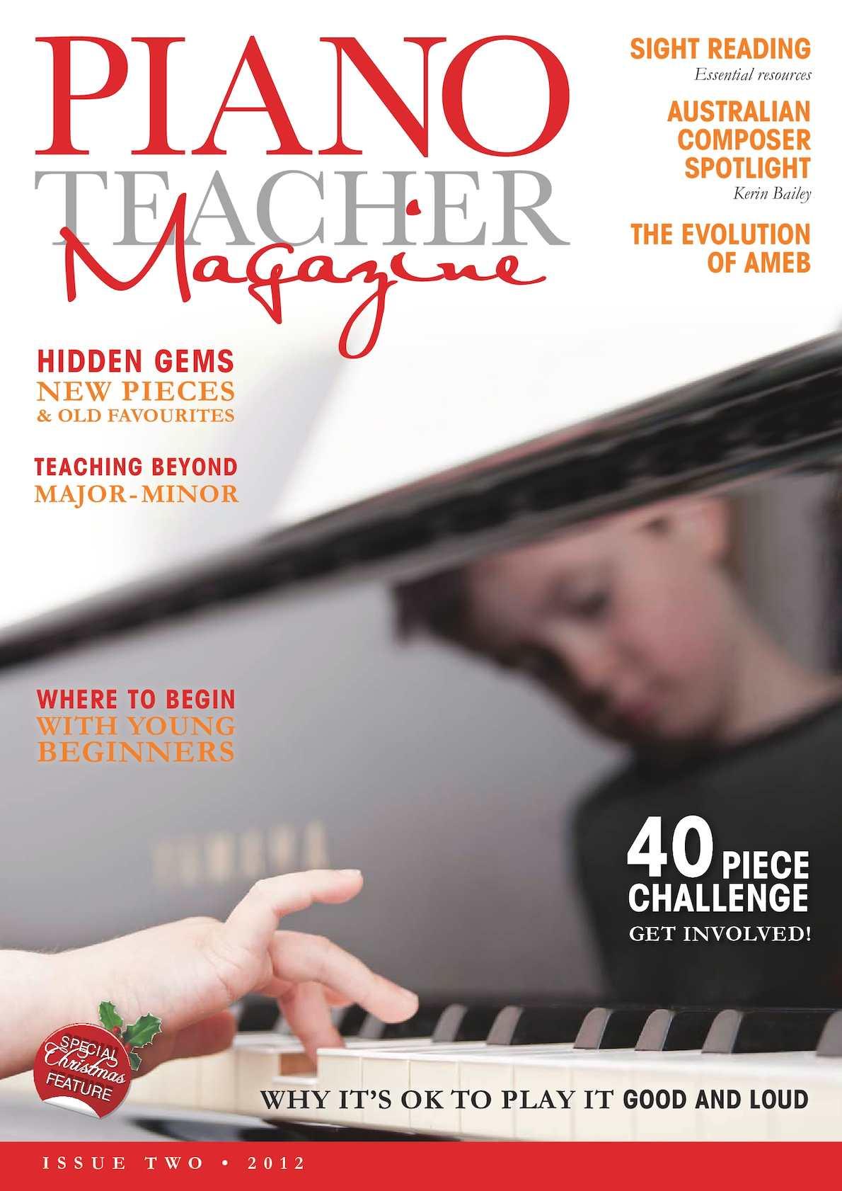 Calaméo - The Piano Teacher Issue 2