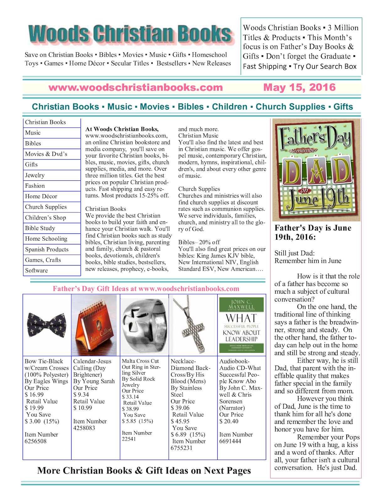Calaméo - Woods Christian Books May 2016