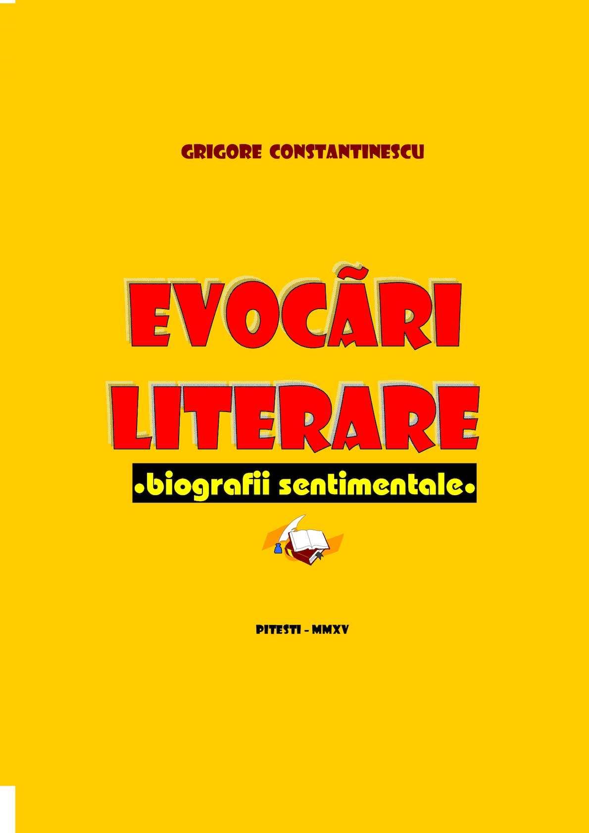 Calaméo - Evocari Literare Biografii Sentimentale