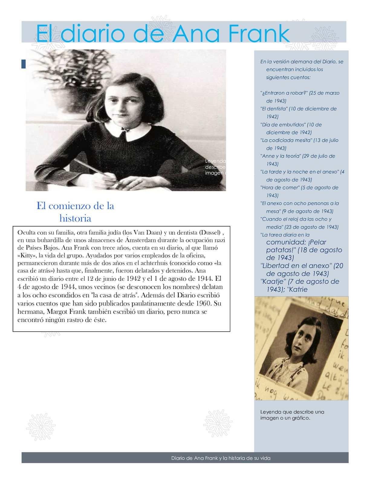 Calaméo El Diario De Ana Frank