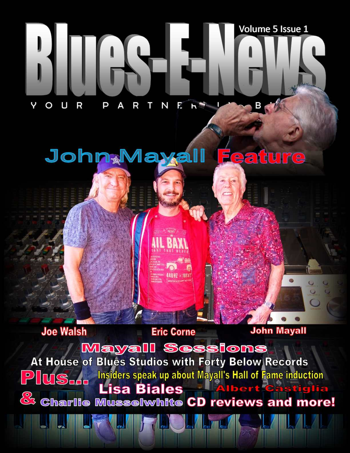 blues e news volume issue john all feature