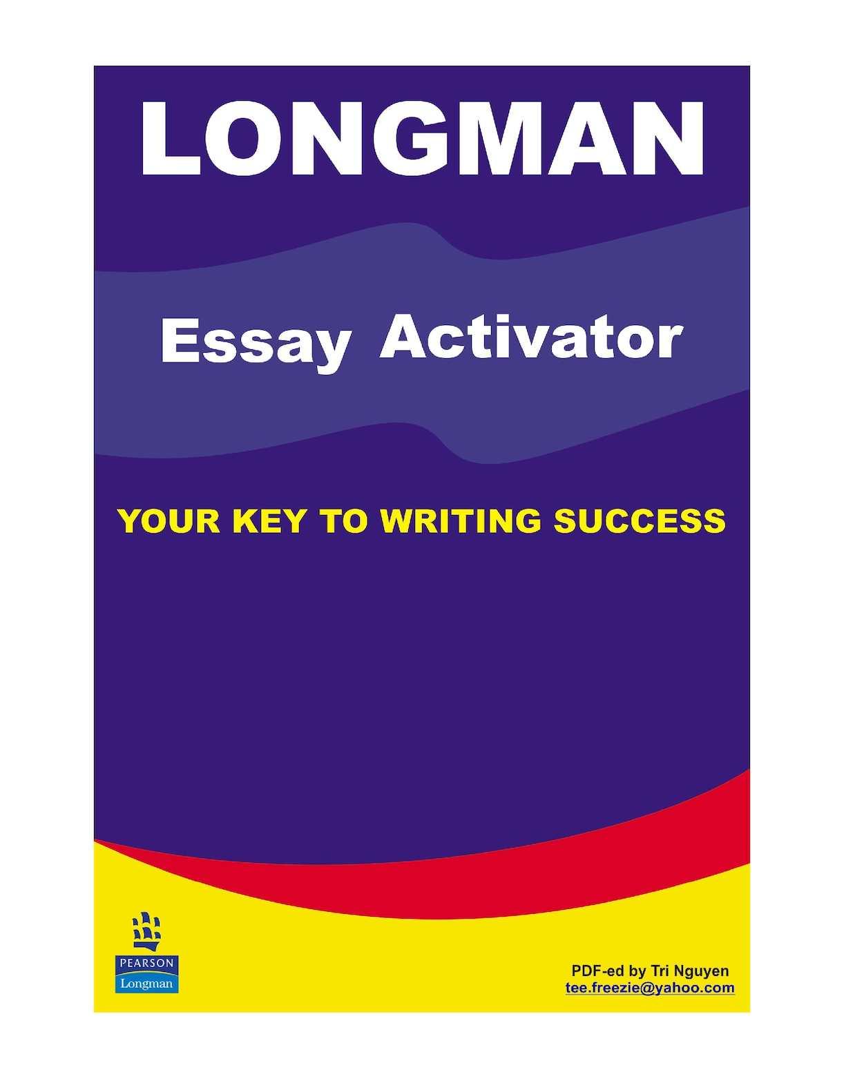 Longman Essay Activator - CALAMEO Downloader