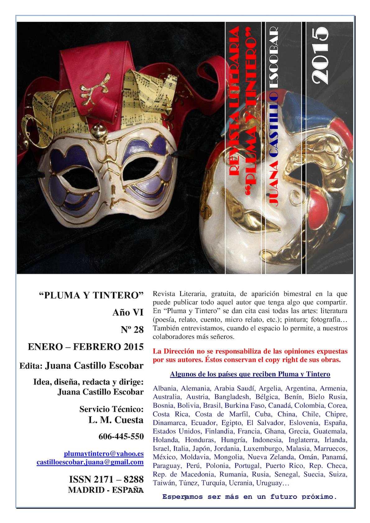 bdc434576834 Calaméo - Nº 28 Enero Febrero 2015