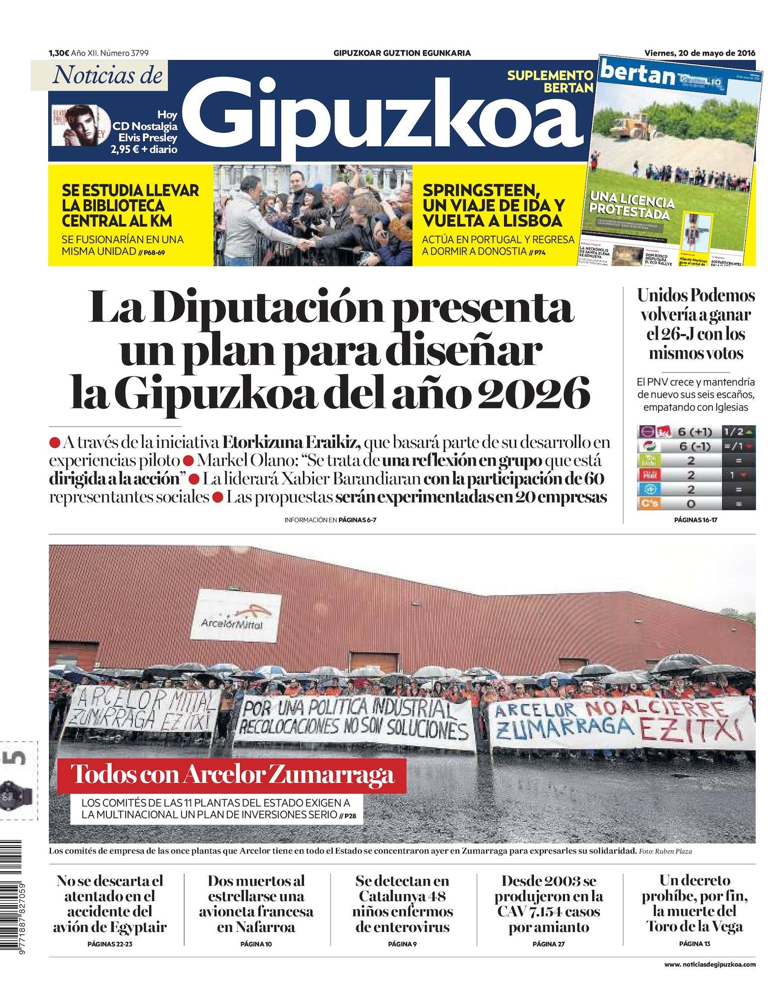 b198a7892 Calaméo - Noticias de Gipuzkoa 20160520