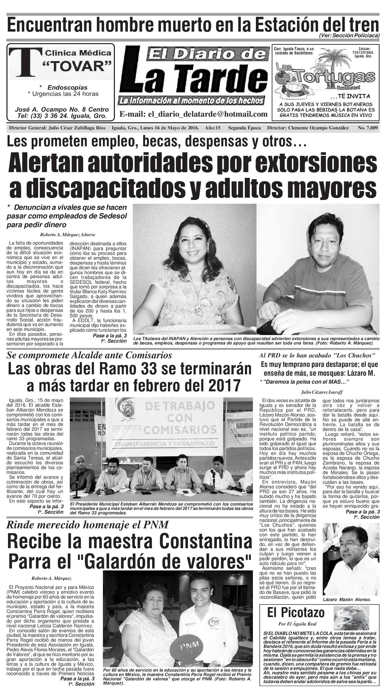 Calaméo 16 De Mayo De 2016