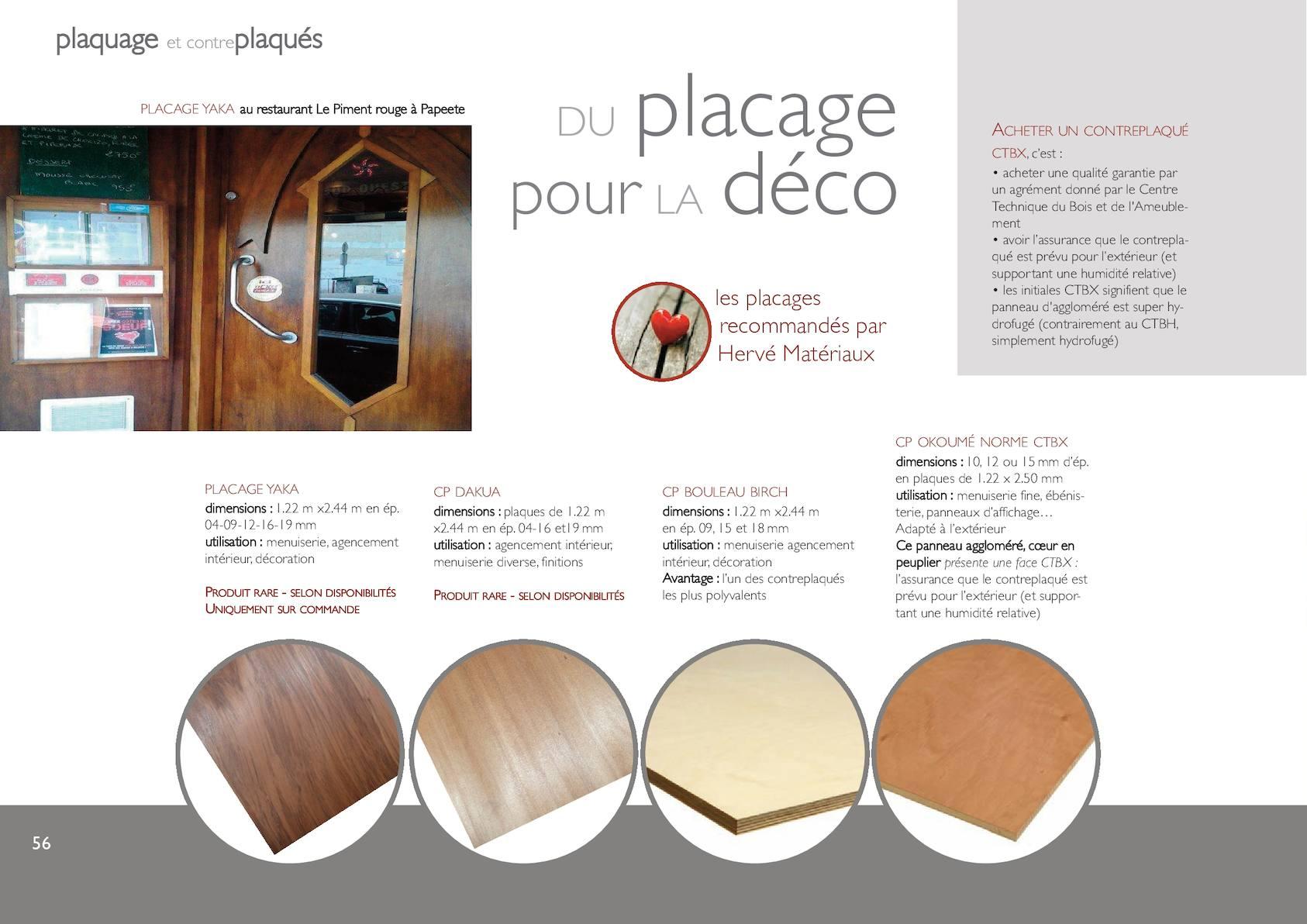 Contreplaqué Bambou 3 Mm catalogue herve materiaux 2016 - calameo downloader