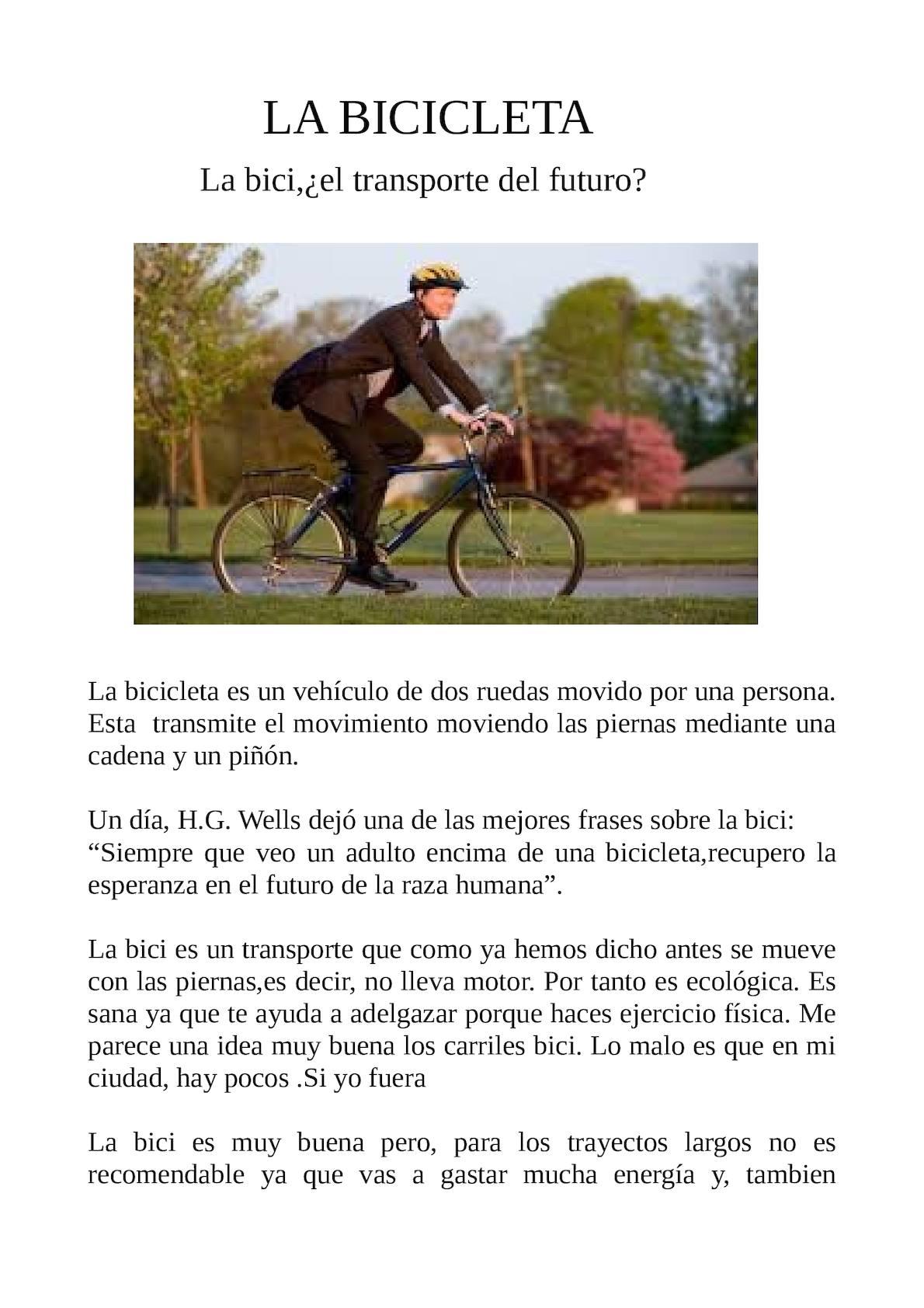 Calaméo Bicicleta