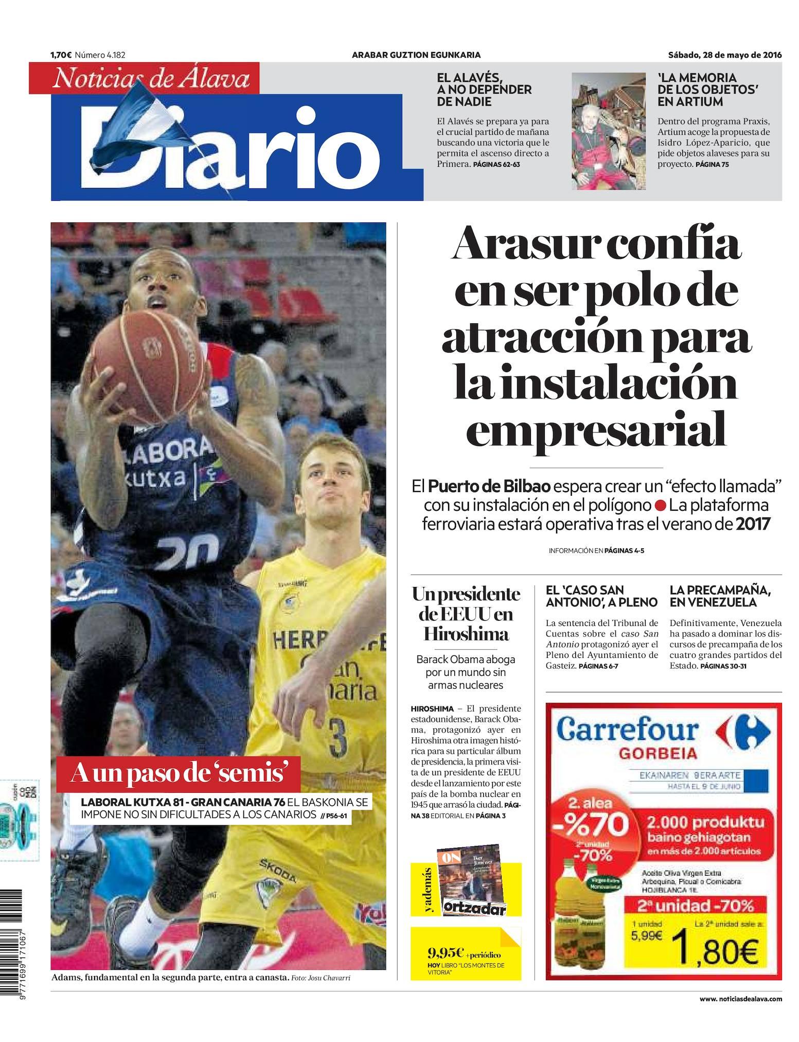 ce7c95b4fa976 Calaméo - Diario de Noticias de Álava 20160528