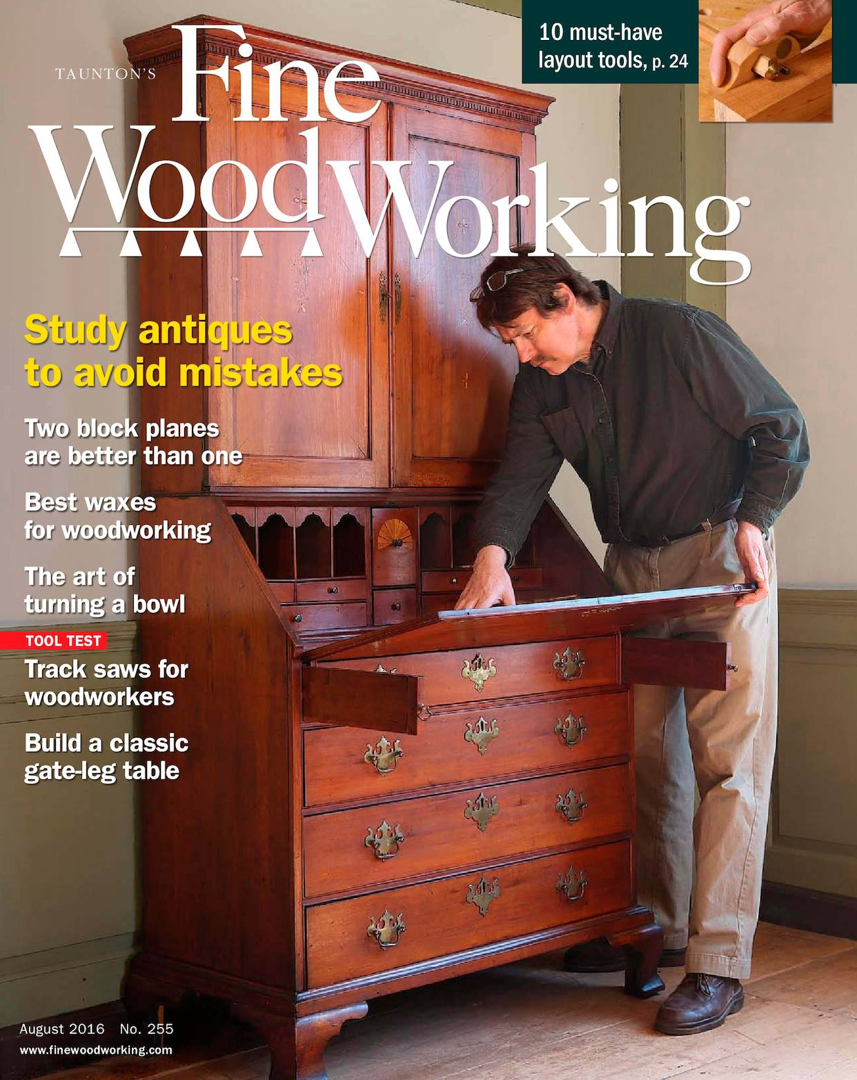 Calam 233 O Fine Woodworking 255 July August 2016 Preview