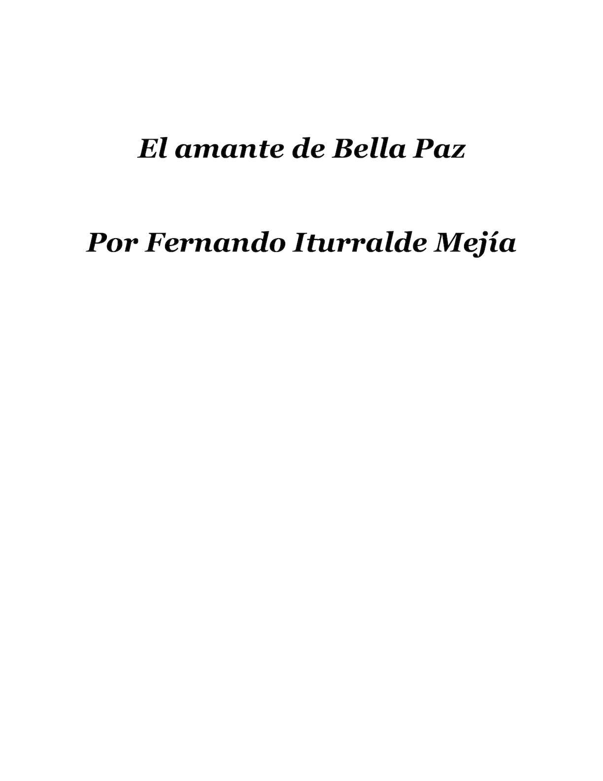 Calaméo - El Amante De Bella Paz (Novela) cb5b527dfaf8